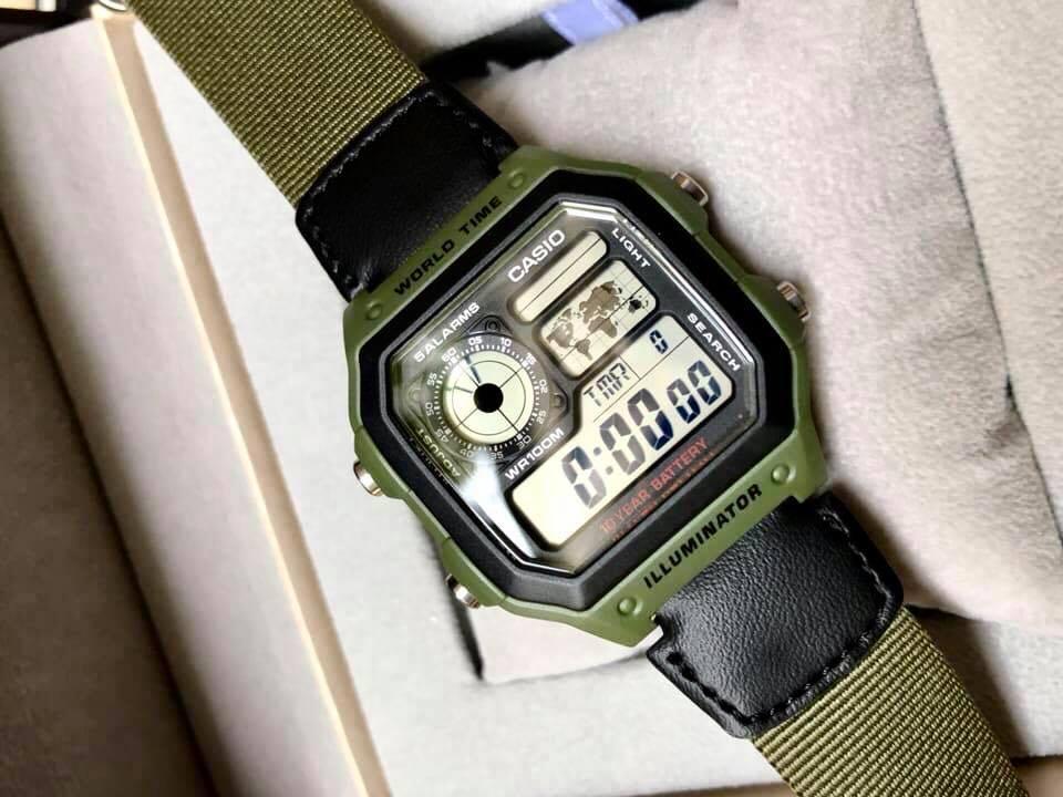 đồng hồ casio điện tử giá rẻ