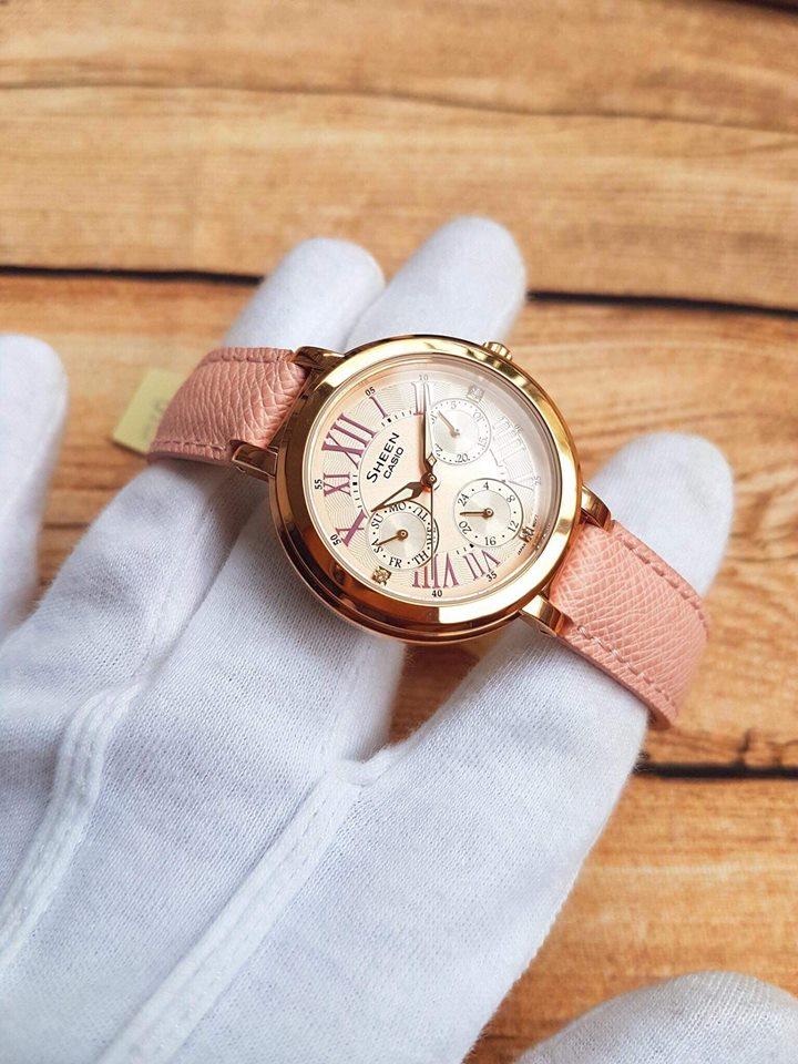 mẫu đồng hồ nữ dây da