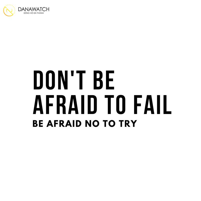 Phương pháp thứ ba - Không sợ thất bại